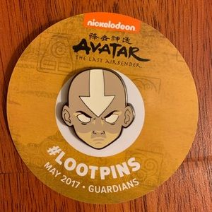 Other - Nickelodeon Avatar Loot Crate Pin